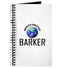 World's Greatest BARKER Journal