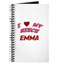 I Love My Niece Emma Journal