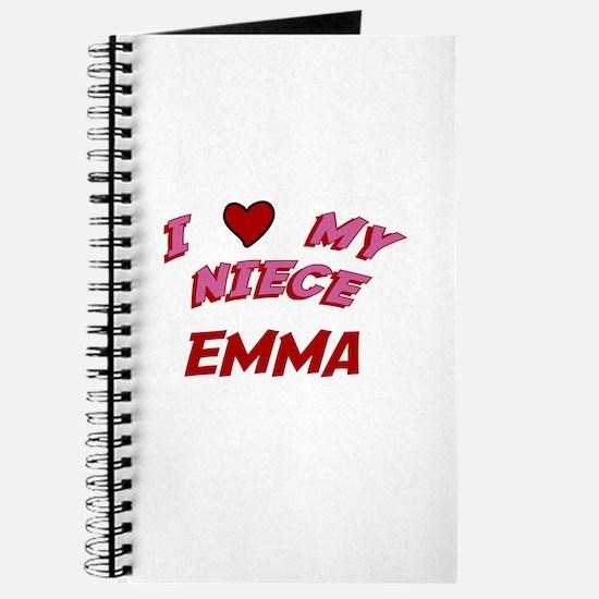 I Love My Niece Emma Journal