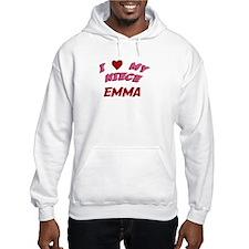 I Love My Niece Emma Hoodie