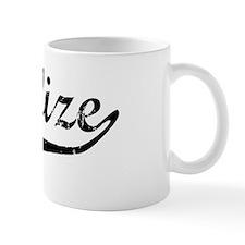 Charlize Vintage (Black) Mug