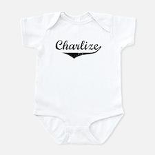 Charlize Vintage (Black) Infant Bodysuit