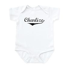 Charlize Vintage (Black) Onesie