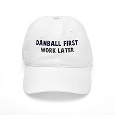 Danball First Baseball Cap