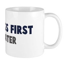 Cyclocross First Mug