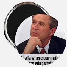 Unique George bush quotes Magnet