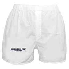 Skimboarding First Boxer Shorts