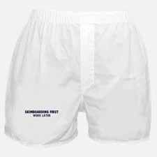 Skimboarding First Boxer Shorts
