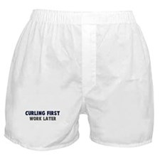 Curling First Boxer Shorts