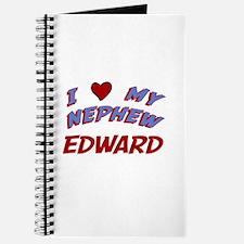 I Love My Nephew Edward Journal