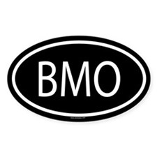 BMO Oval Decal