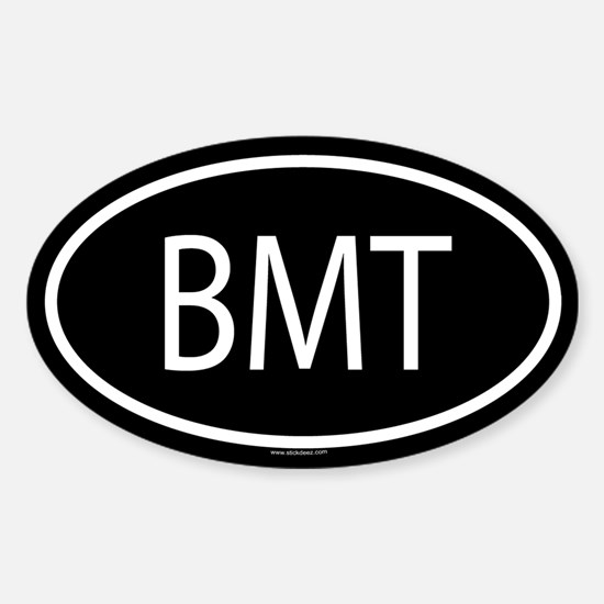 BMT Oval Decal