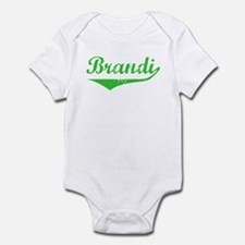 Brandi Vintage (Green) Infant Bodysuit