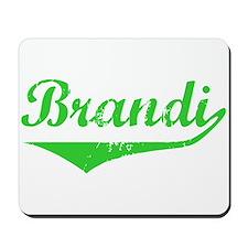 Brandi Vintage (Green) Mousepad