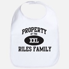 Property of Riles Family Bib
