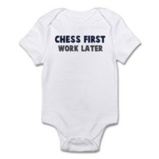 Chess First Infant Bodysuit