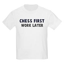 Chess First T-Shirt