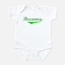 Breanna Vintage (Green) Infant Bodysuit