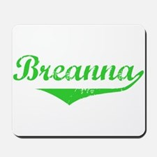 Breanna Vintage (Green) Mousepad