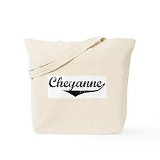Cheyanne Vintage (Black) Tote Bag