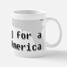 Blogging for a better America Mug