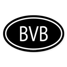 BVB Oval Decal