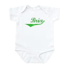 Bria Vintage (Green) Infant Bodysuit