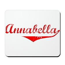 Annabella Vintage (Red) Mousepad