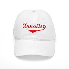 Annalise Vintage (Red) Baseball Cap