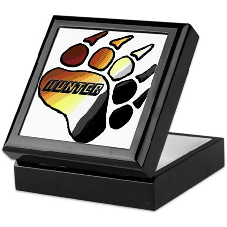 BEAR PRIDE PAW/HUNTER Keepsake Box