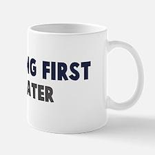 Paragliding First Mug