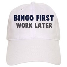 Bingo First Baseball Cap