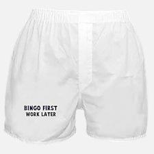 Bingo First Boxer Shorts