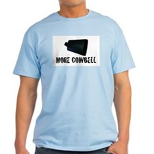 More Cowbell v.2 Ash Grey T-Shirt
