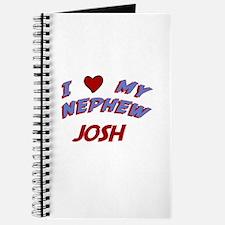 I Love My Nephew Josh Journal