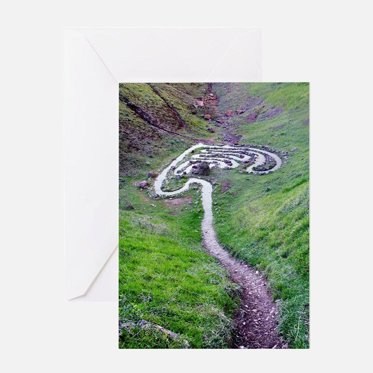 Walk into the Sky Greeting Card