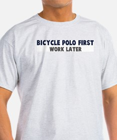 Bicycle Polo First T-Shirt