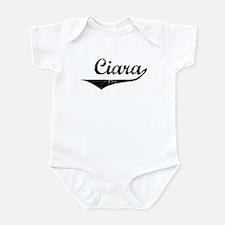 Ciara Vintage (Black) Infant Bodysuit