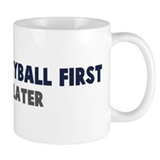 Beach Volleyball First Mug