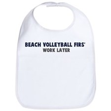 Beach Volleyball First Bib