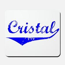 Cristal Vintage (Blue) Mousepad