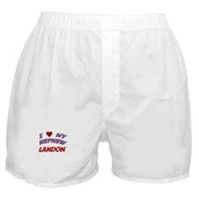 I Love My Nephew Landon Boxer Shorts