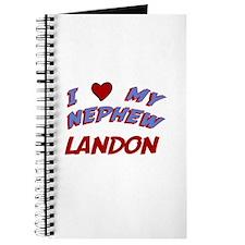 I Love My Nephew Landon Journal