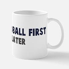 Beach Handball First Mug