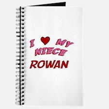 I Love My Niece Rowan Journal