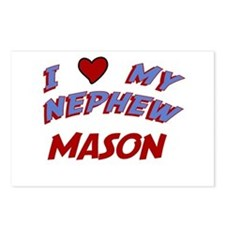 I Love My Nephew Mason Postcards (Package of 8)