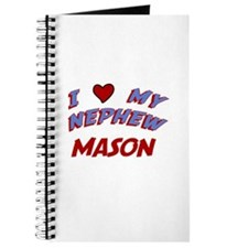 I Love My Nephew Mason Journal