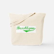 Brooklynn Vintage (Green) Tote Bag