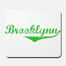 Brooklynn Vintage (Green) Mousepad