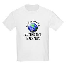 World's Greatest AUTOMOTIVE MECHANIC T-Shirt